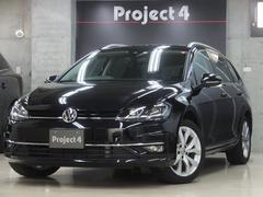 VW ゴルフヴァリアントTSIハイライン 純正ナビTV Bカメラ LEDヘッドライト
