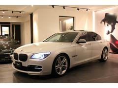 BMW740iミネラルホワイトパール 純正OP20AW H&Rサス