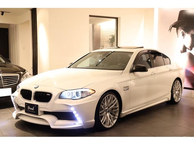 BMW 535i エナジーコンプリート 左H 黒本革 SR