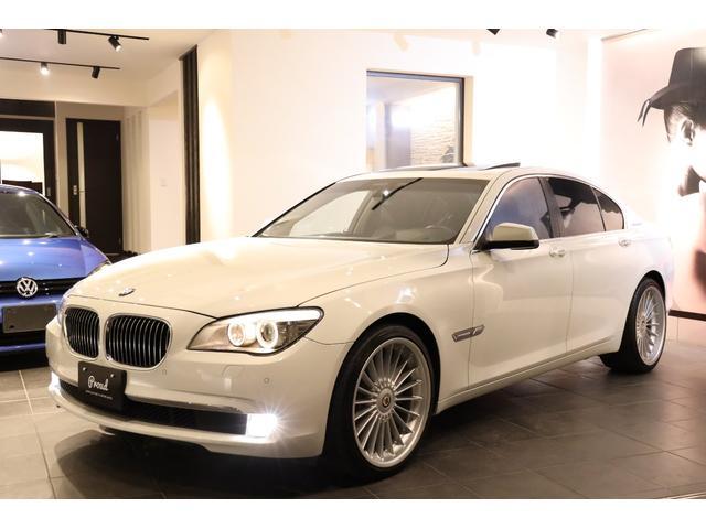 BMW アクティブハイブリッド7 アルピナ21AW 黒本革 SR