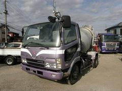 ファイターミキサー車 最大積載量3.83トン 坂道発進補助装置