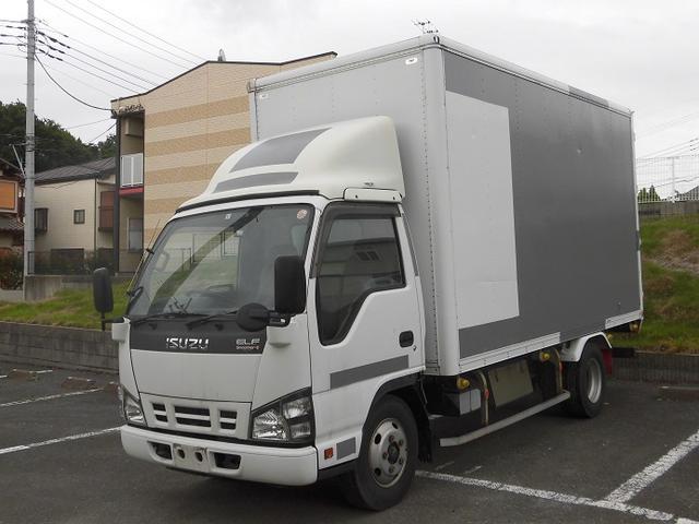 いすゞ 2トン積みアルミバン スムーサーMT バックカメラ ETC