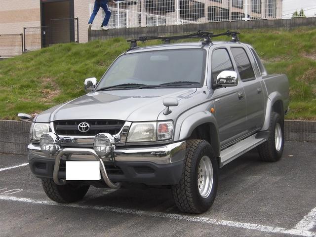 トヨタ ハイラックススポーツピック ダブルキャブ ワイド 4WD 社外アルミ キーレス