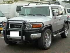 FJクルーザーカラーパッケージ 4WD 社外AW 左H オートマ