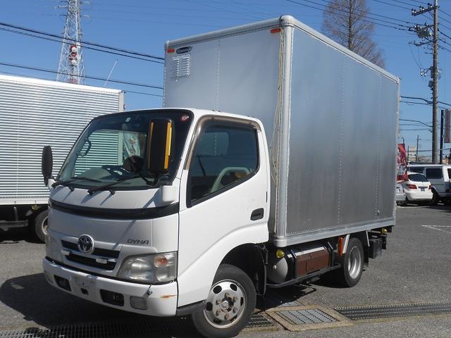 トヨタ ダイナトラック 1.5tアルミバンLPG車AT ラッシング2段