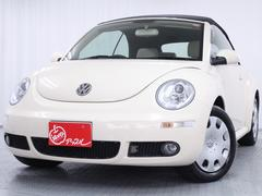 VW ニュービートルカブリオレベースグレード 禁煙 ユーザー買取車 全国対応保証