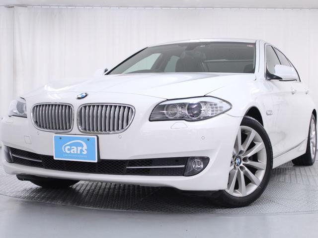 BMW 5シリーズ 523dブルーパフォーマンス 禁煙車 車検記録簿 黒革シート
