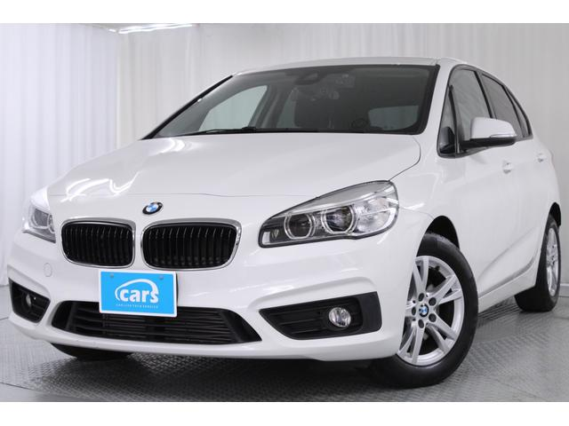 BMW 218dアクティブツアラー 全国対応1年保証/禁煙車/インテリジェントセーフティ/歩行者警告/前後ドライブレコーダー/プッシュスタート/メーカーオプションナビ/バックカメラ/LEDヘッドライト