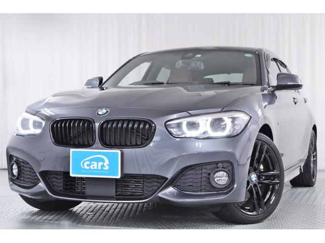 BMW 118d Mスポーツ エディションシャドー 全国対応1年保証付/禁煙車/インテリジェントセーフティ/アクティブクルーズコントロール/純正ナビ/フルセグ/バックカメラ/レザーシート/シートヒーター/純正ETC/LEDライト/スペアキー