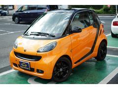 スマートフォーツークーペmhd  エディション ナイトオレンジ D車 パドルシフト