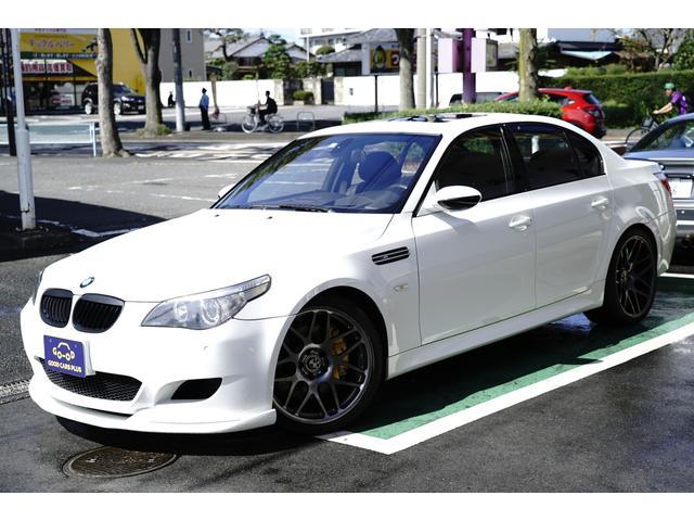 BMW M5 左HD 禁煙 Bカメラ 黒革 KWサス 20インチ