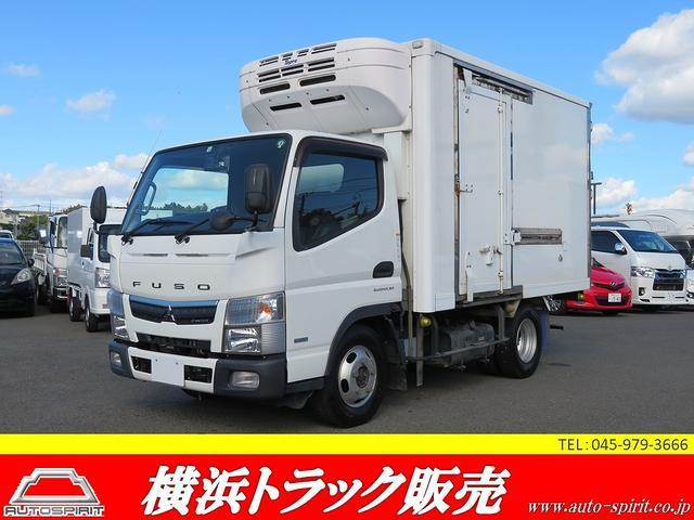 三菱ふそう キャンター  積載1450kg -30℃設定 東プレ製冷凍冷蔵車 バックモニター キーレス 電格ミラー 4WD