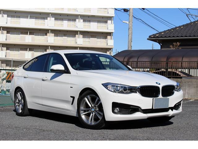 BMW 3シリーズ 320iグランツーリスモ スポーツ 1オーナー 禁煙車 パワートランク 走行中視聴可能地デジ バックカメラ パークセンサー ミュージックキャッチャー