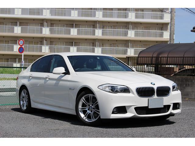 BMW 5シリーズ 523d Mスポーツ Mスポーツ 禁煙車 ディーゼル エコカー減税対象 前後パークセンサー 地デジ ナビ バックカメラ ブルートゥースオーディオ コンフォートアクセス アイドリングストップ