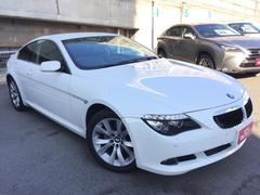 BMW 630i 革シート/HDDナビ/ETC/DVD再生/HID
