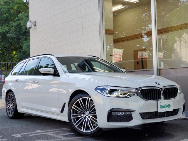 BMW 523dツーリング Mスポーツ ACC HUD 360カメラ Pトランク ワイヤレスC 衝突軽減 レーダーブレーキ 19インチAW LED 点検記録簿