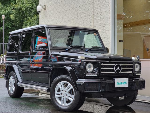 メルセデス・ベンツ G350d ブラウンレザー シートヒーター ハーマンカードン 純正ナビ フルセグ サンルーフ H29 H30 R1 ディーラー点検記録簿付き 新車保証書