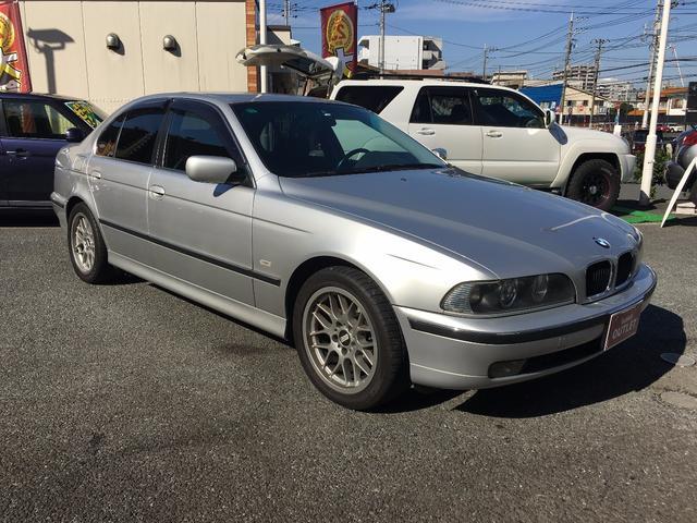 BMW 525i BBSアルミ ウーファー ETC HID