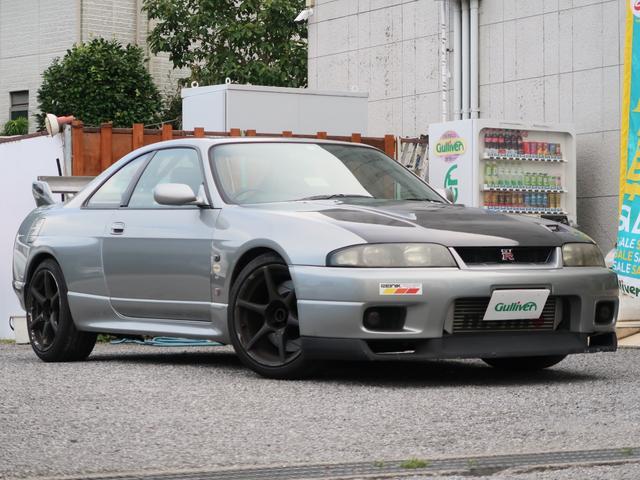 日産 スカイライン GT-R HKS GTSSタービン APEX FCコマンダー ニスモマフラー ジール車庫調 ニスモ前置IC サイトウロールゲージ レカロフルバケ(D)セミバケ(N)