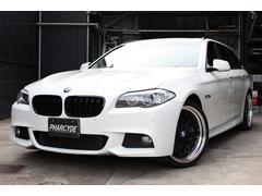 BMW523iツーリング MスポーツWORK20インチ サンルーフ