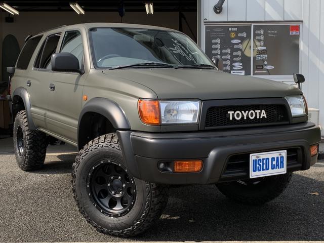 トヨタ ハイラックスサーフ SSR リフトアップ 新品MTタイヤ 新品AW テールガード