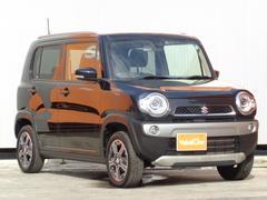 ハスラーXターボ 1オーナー 4WD スマートキー SDナビ 1セグTV 衝突軽減装置 HID シートヒーター ダウンヒルアシスト ETC