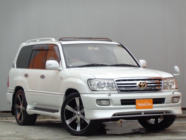 トヨタ VXリミテッド Gセレクション 買い取り直販 MKW22インチAW ガナドール4本出しマフラー タッグマスターヒッチメンバー タイベル交換済み 最終フェイス サンルーフ 本革シート