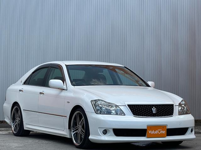 トヨタ アスリート 社外フロントバンパー 車高調 運転席パワーシート オートエアコン 1年保証走行距離無制限