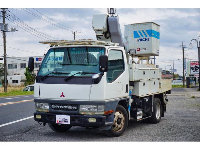 三菱ふそう 高所作業車・アイチSH09A・9m・NoxPM適合車