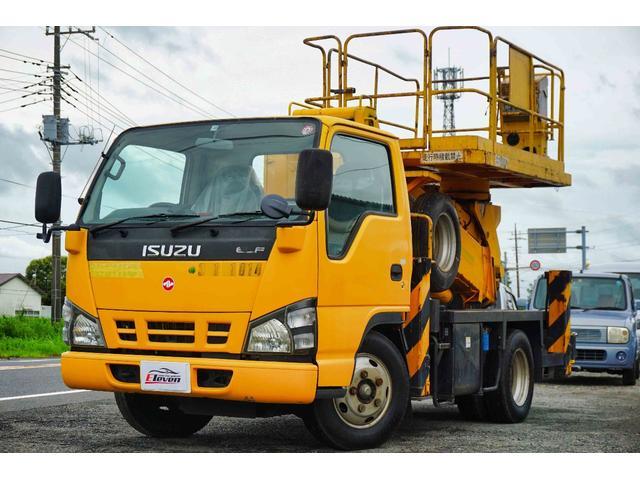 いすゞ エルフトラック 10m高所作業車・タダノAT-100SR・ETC