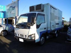 エルフトラックマイナス30度設定2室サイドドアスタンバイ付東プレ低温冷凍車