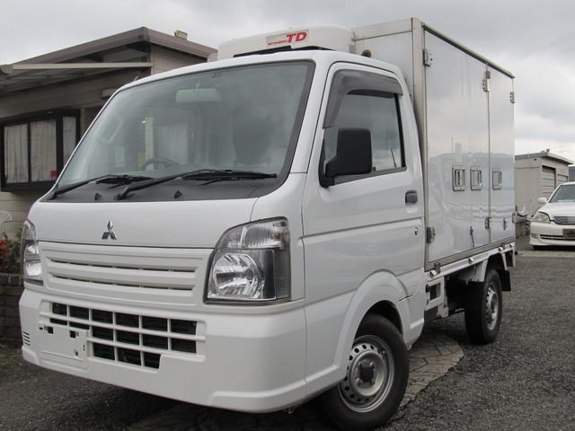 三菱 ミニキャブトラック 二層式冷蔵冷凍車 菱重コールドチェーン オートマ エアコン パワステ 前室-5度〜25度 後室0度〜65度 マイナス6度まで確認済み