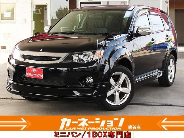 三菱 ローデスト24G 4WD SR HDDナビ 専用エアロ