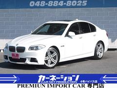 BMW523i MスポーツPKG SR HDDナビ エアロ専用サス
