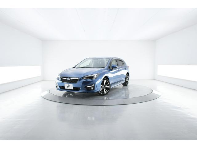 スバル インプレッサスポーツ 2.0i-Sアイサイト 4WD アドバンスドセイフティ 黒革 8型専用ナビ