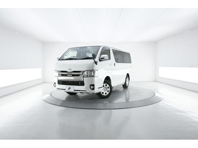トヨタ レジアスエースバン スーパーGL ダークプライムII 4WD 両電動スライド AC100V 後席モニタ Blu-ray