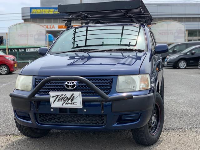 トヨタ サクシードワゴン TX Gパッケージ リフトアップ M/Tタイヤ キャリア 4WD 構造変更公認