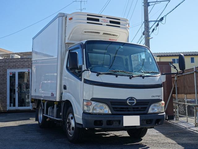 日野 2t 冷蔵冷凍車 低温-30度設定 サイドドア