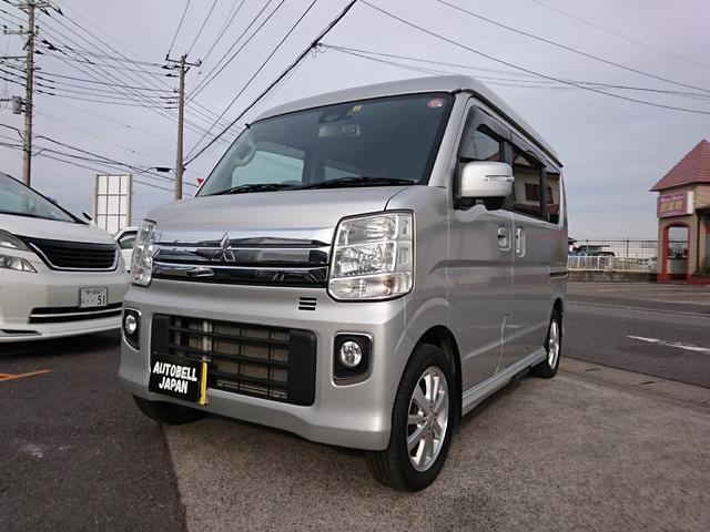 三菱 Gスペシャル 両側パワースライドドア・オートステップ・スマートキー・SDナビ・フルセグ・バックカメラ
