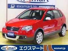 VW ポロクロスポロ ワンオーナー 社外ナビ ワンセグ ETC 記録簿