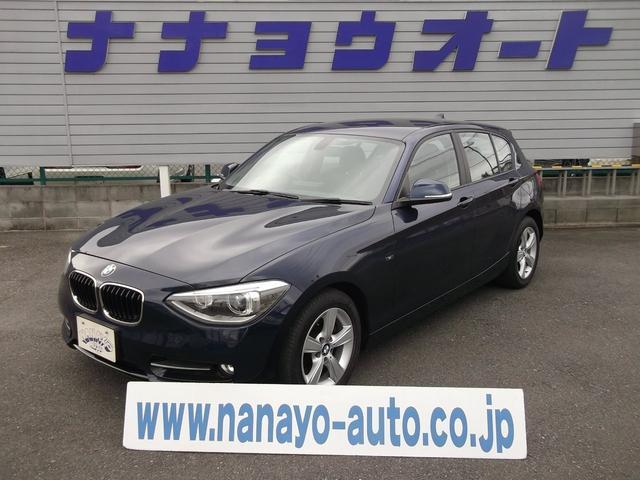 BMW 116i スポーツ 純正ナビ