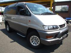デリカスペースギアXR 切替式4WD ナビ CD ETC サンルーフ アルミ
