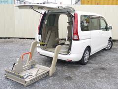 セレナ20G 車いす移動福祉車両 バックモニター