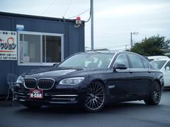 BMWアクティブハイブリッド7L ローダウン 21インチアルミ