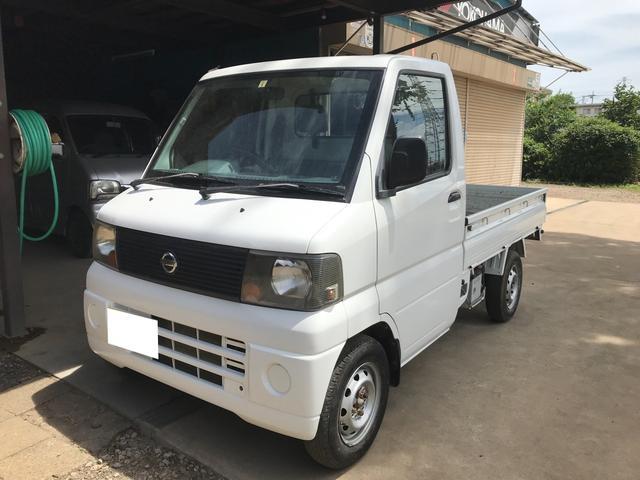 日産 4WD エアコン 5MT 軽トラック ラジオ