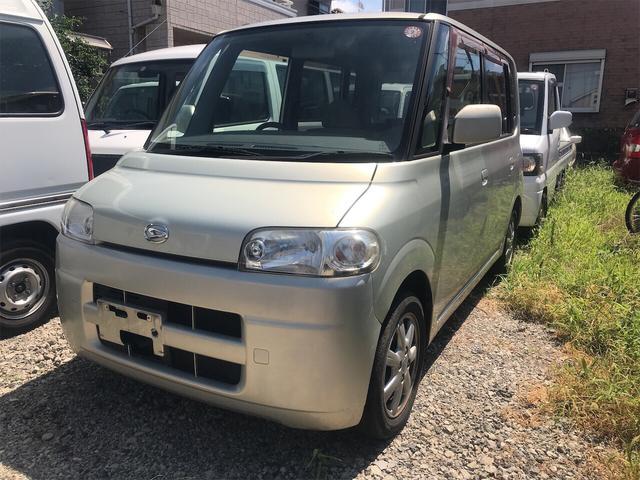ダイハツ タント X 軽自動車 シャンパンメタリックオパール A...