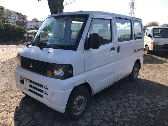 三菱 ミニキャブバン Vタイプ 4WD AC AT 修復歴無 軽バン