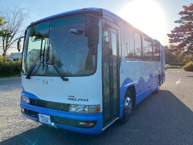 日野  メルファ バックカメラ ETC 実走行107000km キャンピングカー等に変更は最適!!