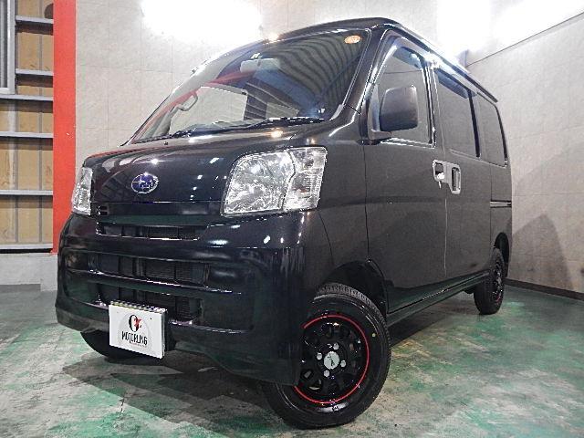 スバル トランスポーター ハイルーフ 社外12AW 新品ワンセグナビ