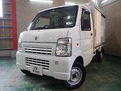 キャリイトラックベースグレード エアコン パワステ  東洋ブラザー工業保冷車